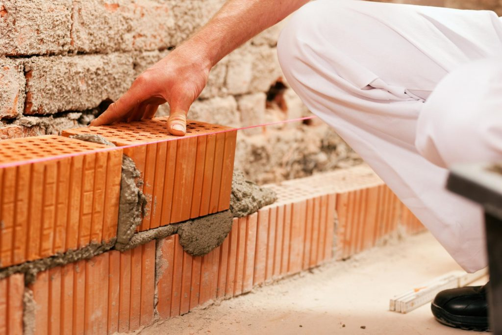 this is an image of carlsbad bricklayer